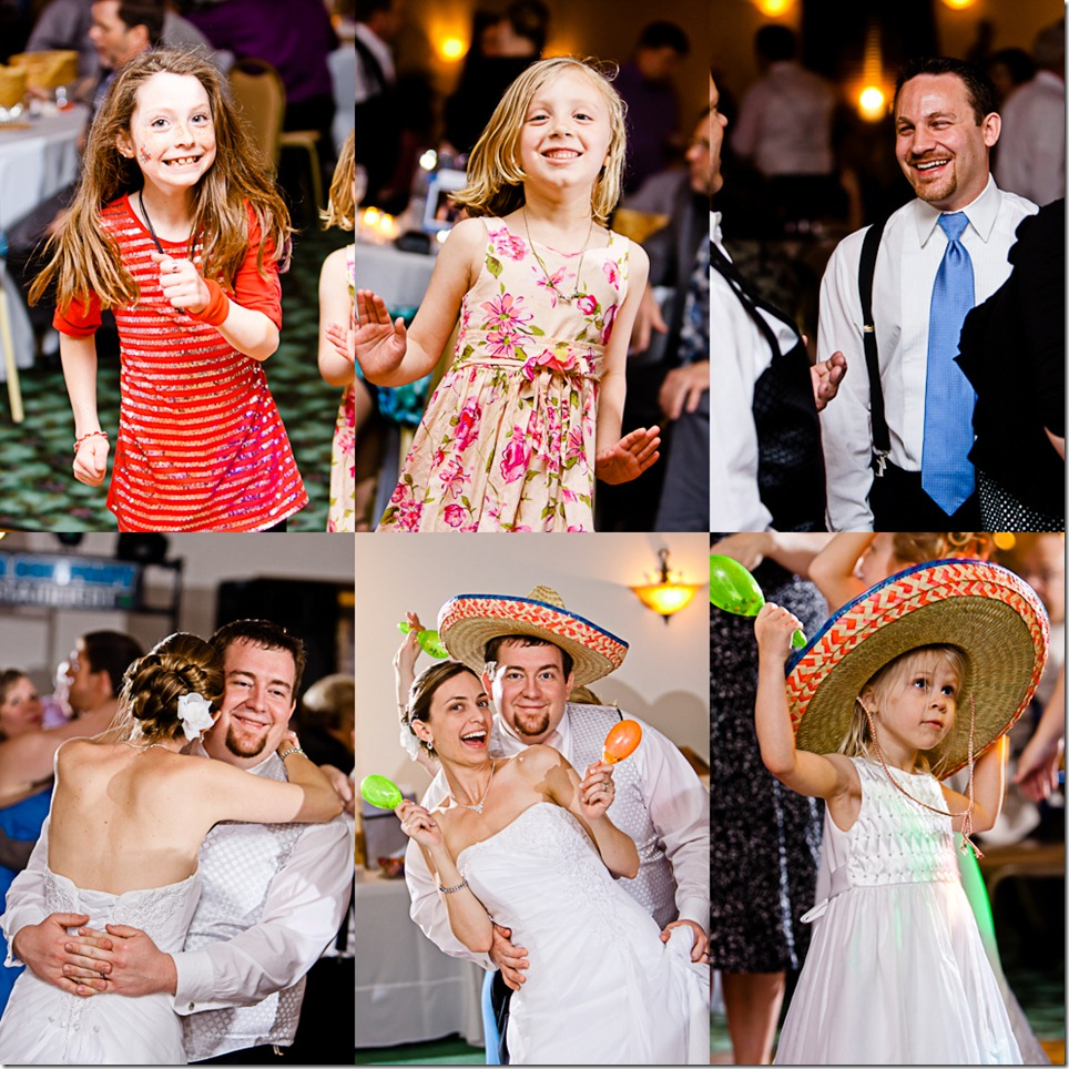 Dancing at the Reception - held at Whispering Pines, Carlisle PA