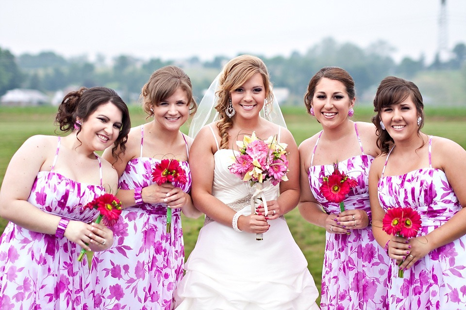 bridesmaids in Ephrata, PA