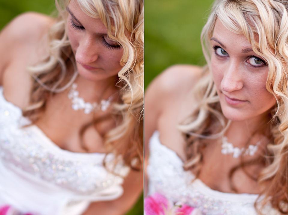 Portrait of Bride, Blue Ridge Country Club