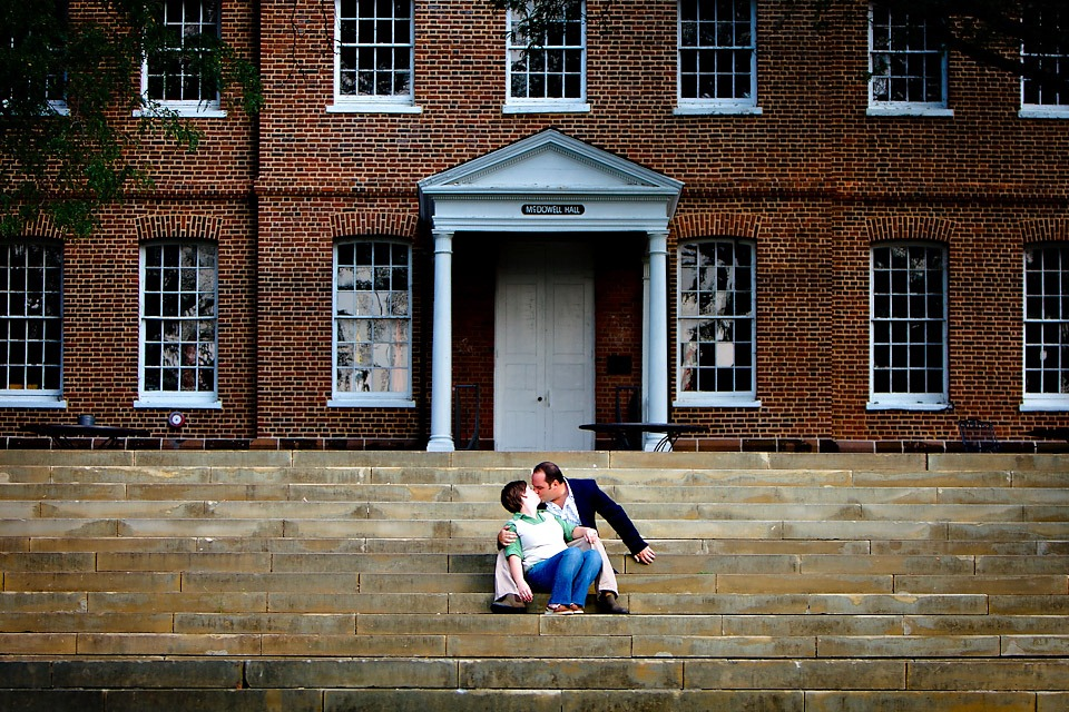 St Johns University Engagement Photography
