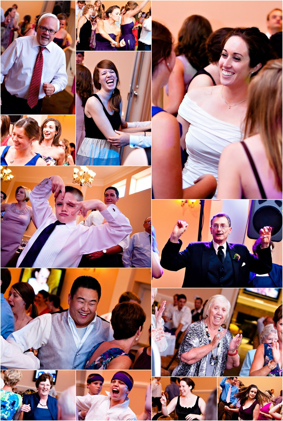 Milestone Events - Dancing during Wedding Reception