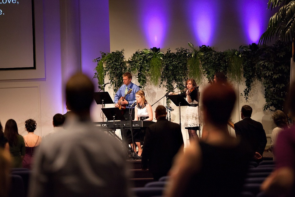 Worship Team at Ephrata Community Church