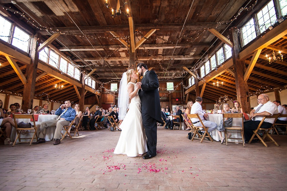 Yellow Barn Wedding Reception