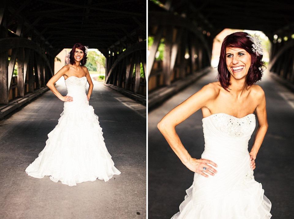 Covered Bridge Wedding Photography