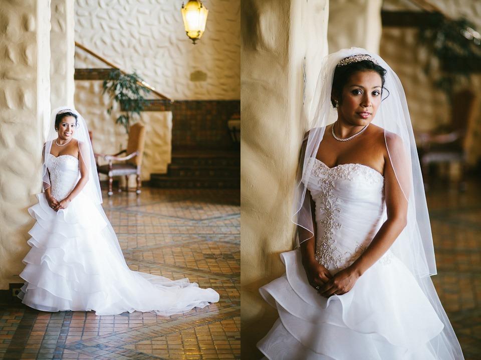 Bride at Hershey Hotel