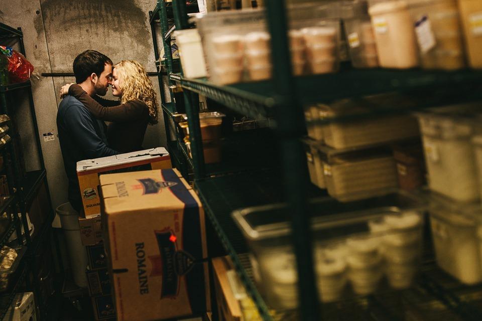 love in a fridge