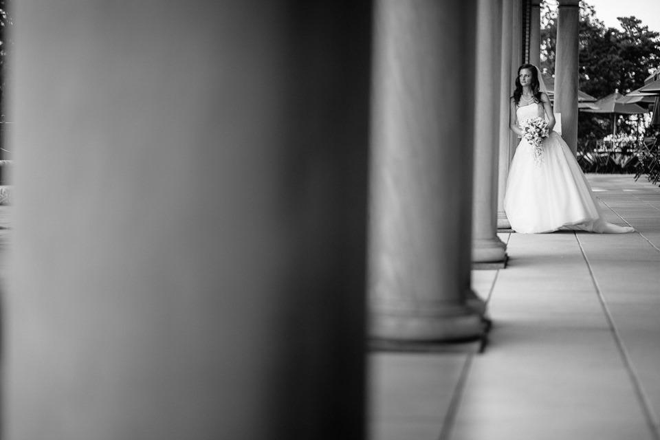 bride at Hotel Hershey