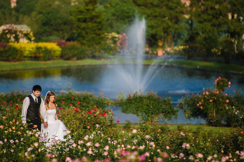 Married Karly And Paul At The Hershey Gardens Toddg Photography