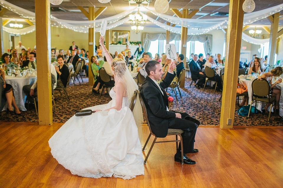 Wedding Reception at Susquehanna Club, New Cumberland PA