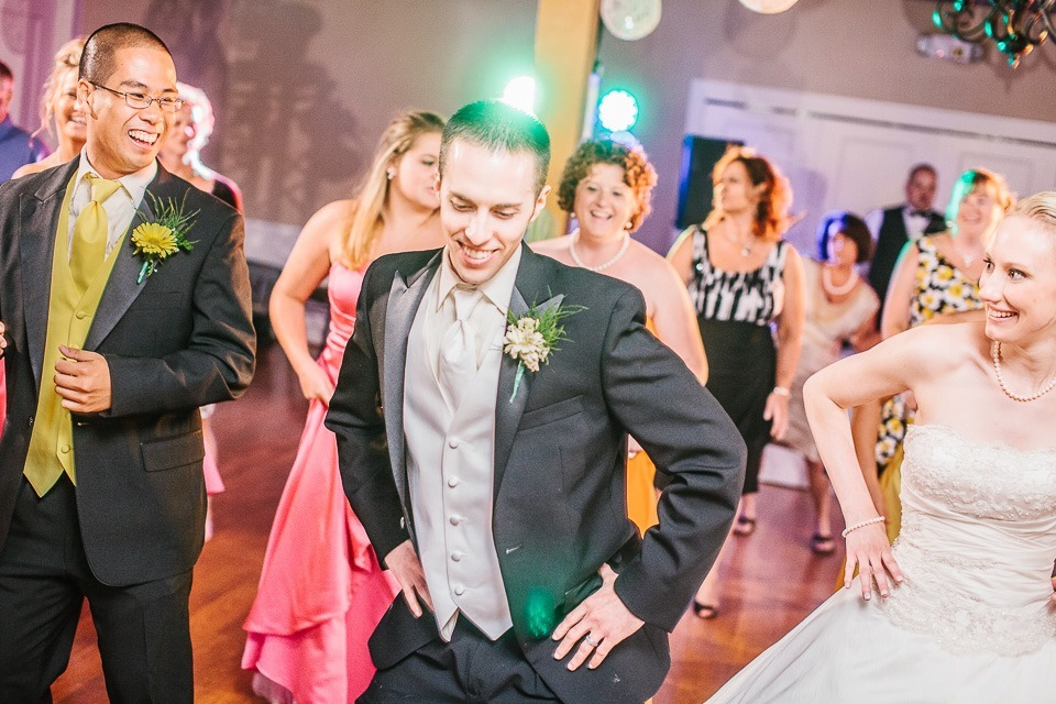 Dancing at the Susquehanna Club, Wedding Reception Photography