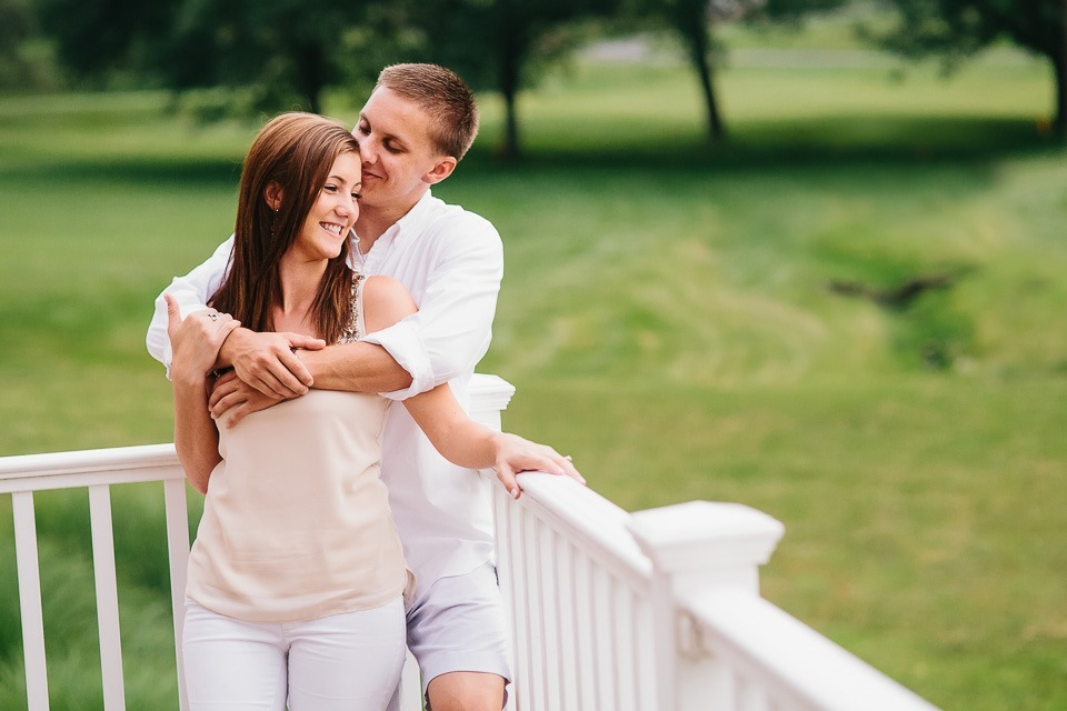 Coatesville Country Club Engagement Photography