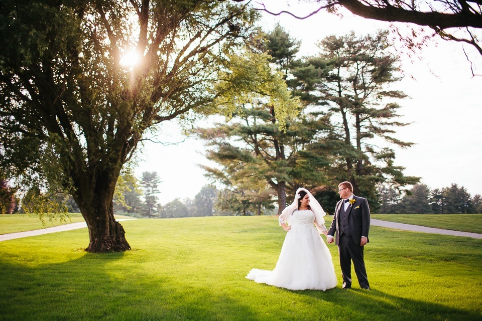Outdoor Country Club Wedding Photographers
