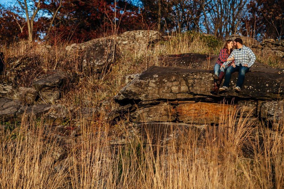 Gettysburg Engagement Photography