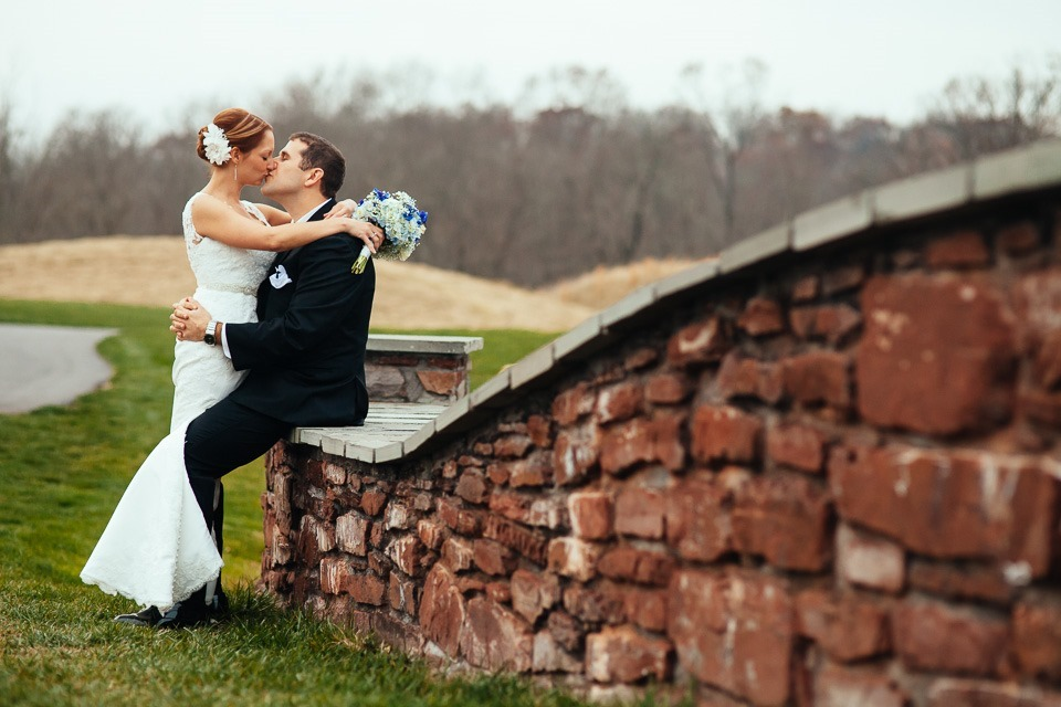 Links at Gettysburg Wedding Photographers