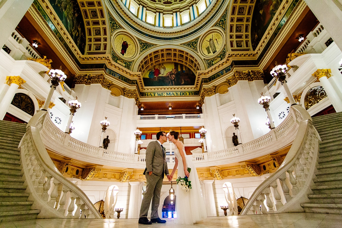 PA State Capitol Wedding Photographers