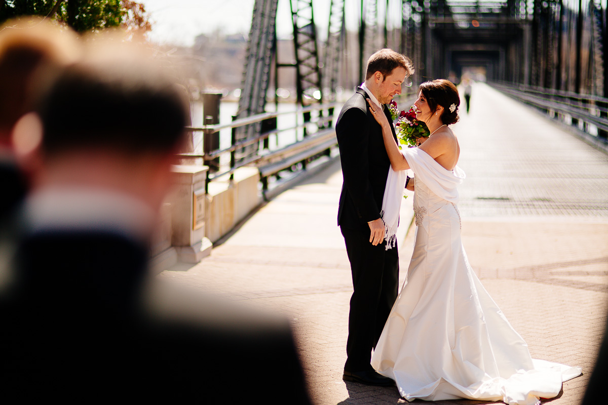 Walnut Street Bridge Wedding Photography