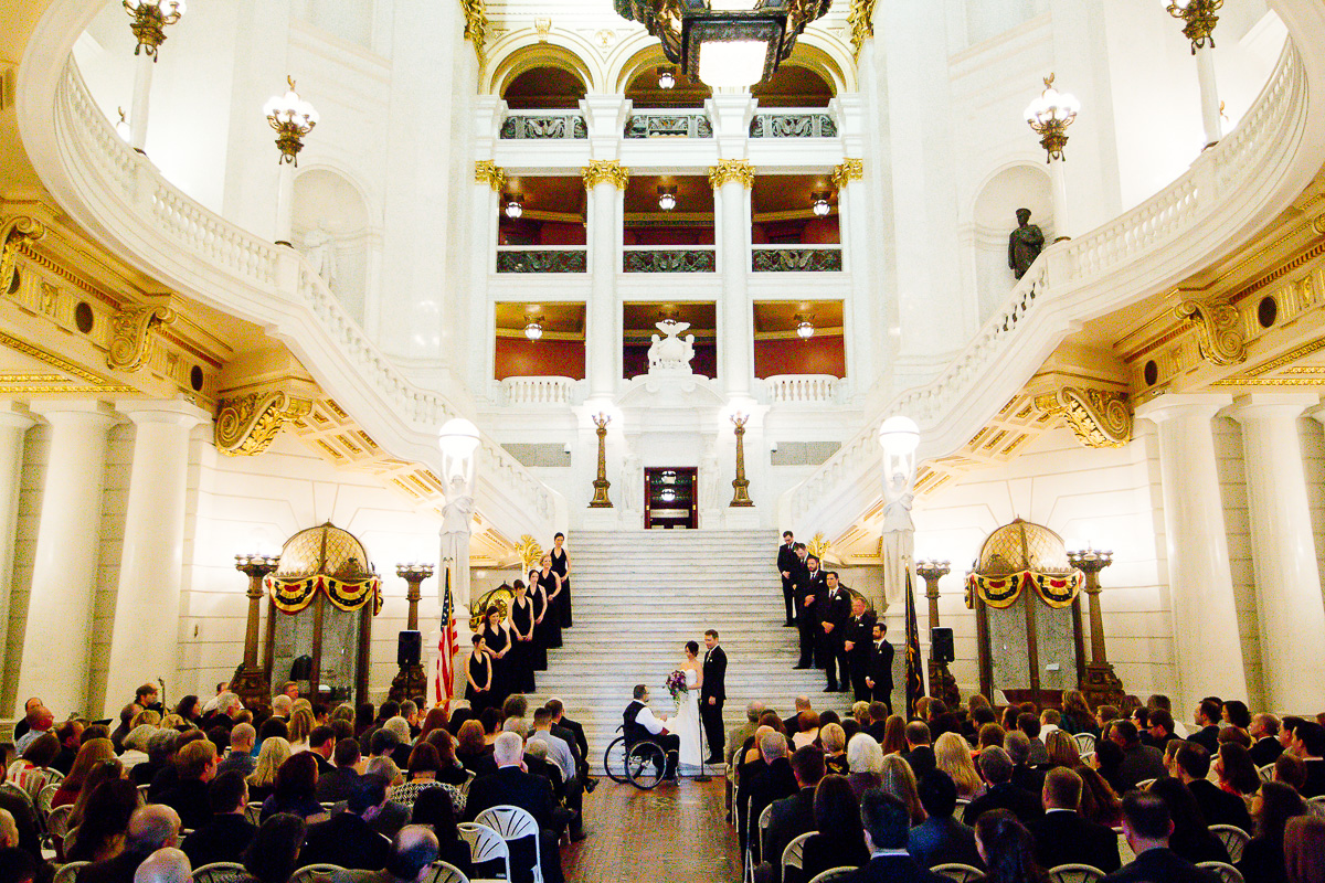 Weddings at the Harrisburg Capitol Rotunda