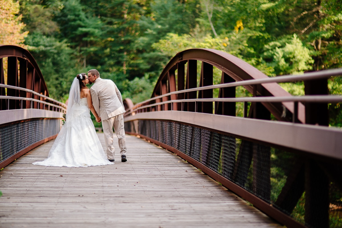 Ned Smith Center Wedding Photographers