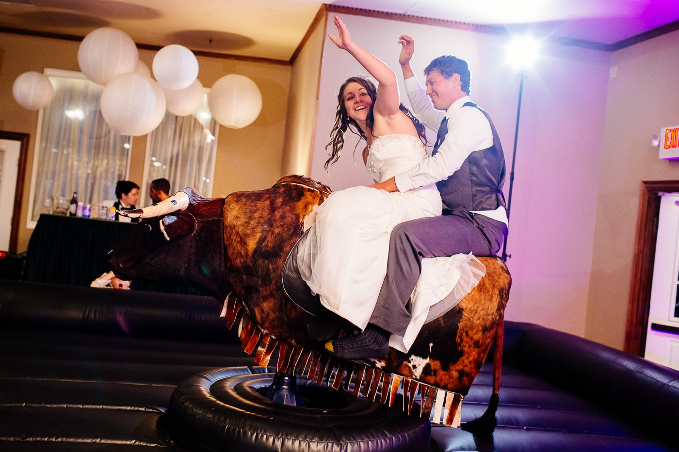 silver moon banquet hall wedding reception
