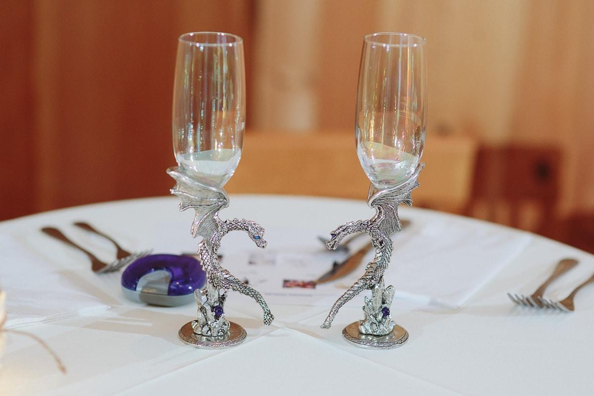 Dragon Wedding Glasses