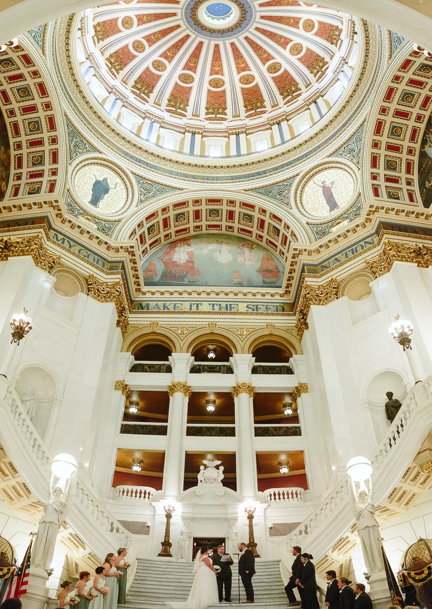 Pennsylvania State Capitol Wedding Photographers