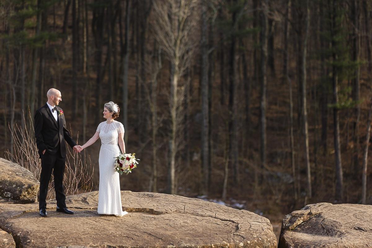 Gettysburg Battlefield Wedding